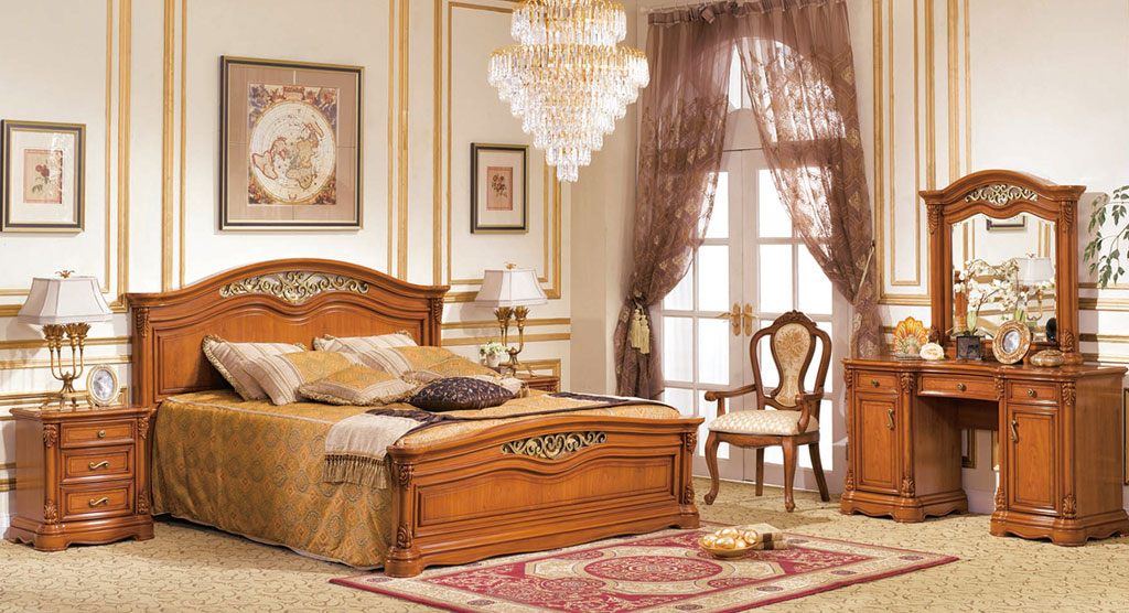 Tweepersoonsbed 180x200 Cm.Nizza Bed 180x200 Cm Moobliait Classical Style Furniture